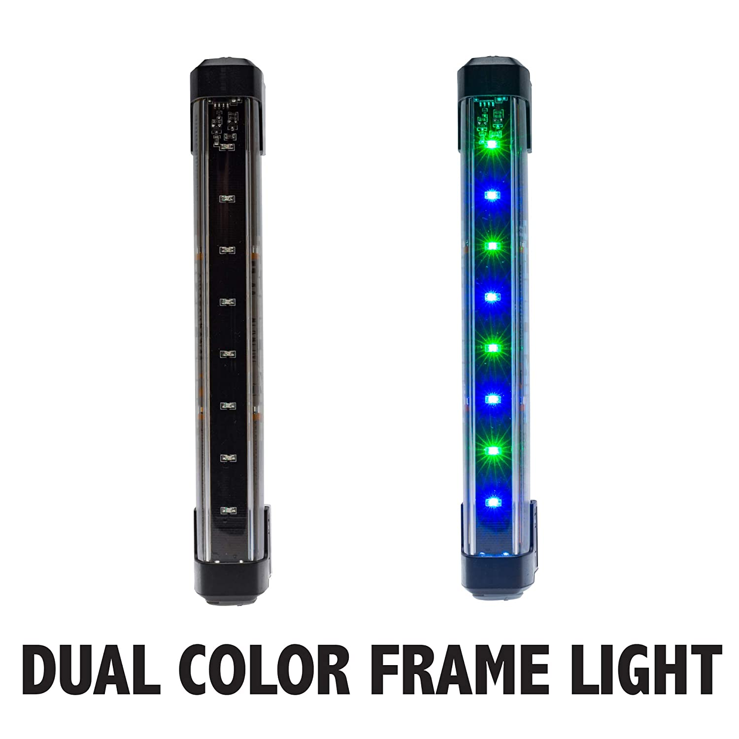 Bike Party Dual Color Bicycle Frame Light