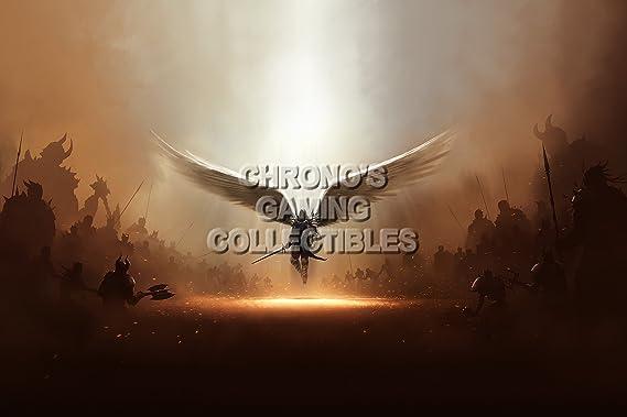 CGC enorme cartel - Diablo III segador de almas PS3 PS4 XBOX 360 ...