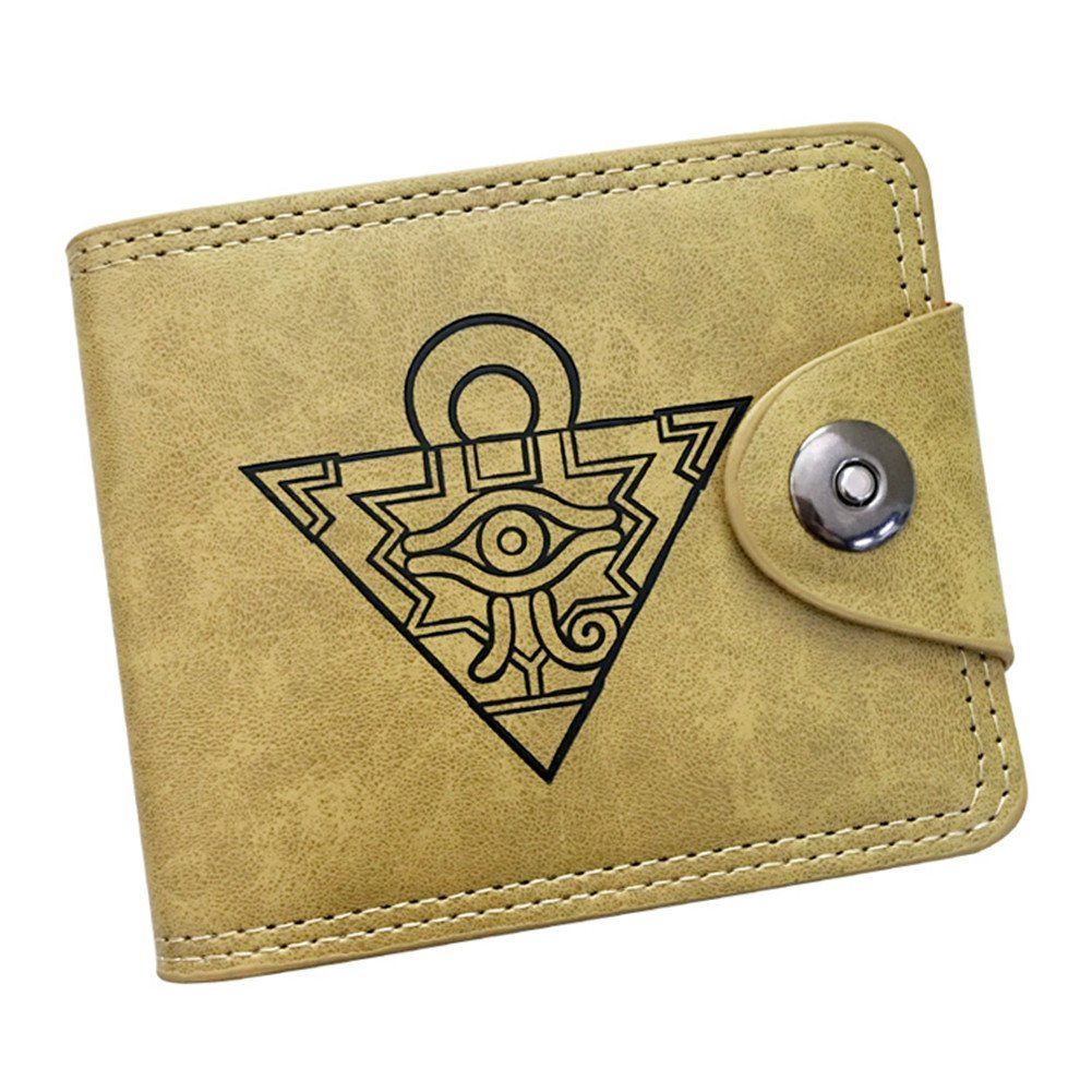 Gumstyle Yu Gi Oh Anime Cosplay 10 Slots Bifold Wallet Card Holder Purse