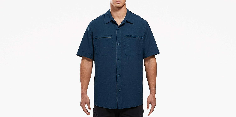 VIKTOS Mens Shemagh Short Sleeve Shirt