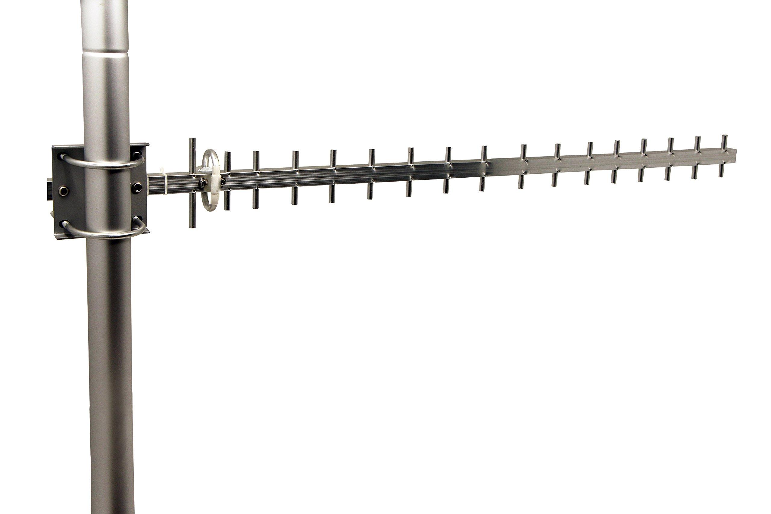 Tupavco TP513 Yagi WiFi Antenna 2.4GHz 17dBi Angle H:25° V:24 Outdoor Directional Wireless by Tupavco
