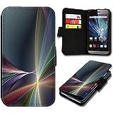Book Style HTC Desire 310 Premium PU-Leder Tasche Flip Brieftasche Handy Hülle mit Kartenfächer für HTC Desire 310 - Design Flip SV87