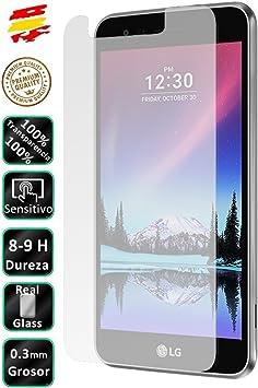 Movilrey Protector para LG Optimus K4 2017 Cristal Templado de ...