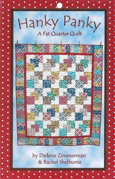 Amazon Hanky Panky Quilt Pattern Fat Quarter Friendly 60 Size Unique Fat Quarter Quilt Patterns