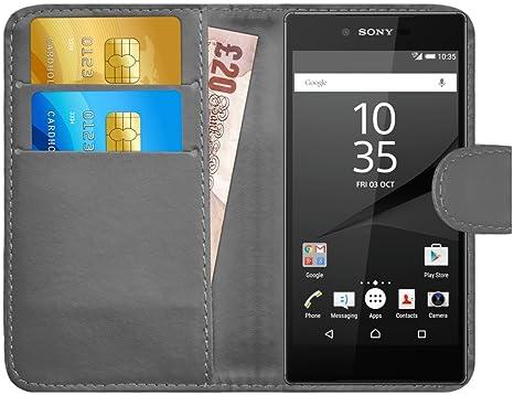 G-Shield Funda para Sony Xperia Z5 Premium, Carcasa de Cuero ...