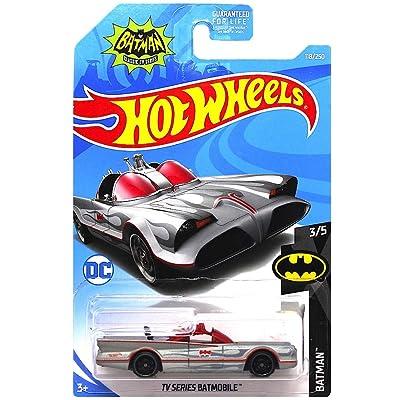 Hot Wheels TV Series Batmobile Diecast Car 1:64 Scale: Toys & Games