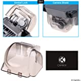 CamKix 2in1 Gimbal Lock and Camera Shield Compatible with DJI Mavic Pro/Platinum - Locks The Position of The Gimbal - Shields The Camera Against Impacts - Essential Drone Protection Kit