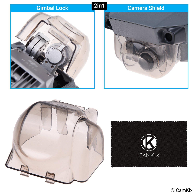 CamKix 2en1 Gimbal bloqueo y escudo de la cámara Compatible con DJI Mavic Pro – Bloquea
