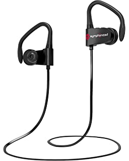Symphonized PWR Bluetooth Earbuds | Wireless Water Resistant Sport Earphones with Mic | HD Stereo Sweatproof