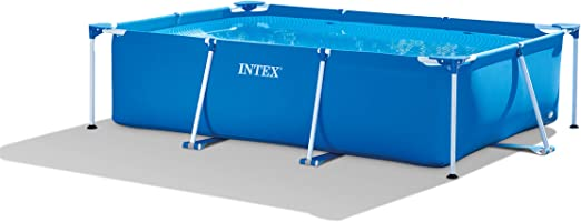 Intex 28272NP Small Frame - Piscina desmontable, 300 x 200 x 75 cm, 3.834 litros, azul: Amazon.es: Jardín