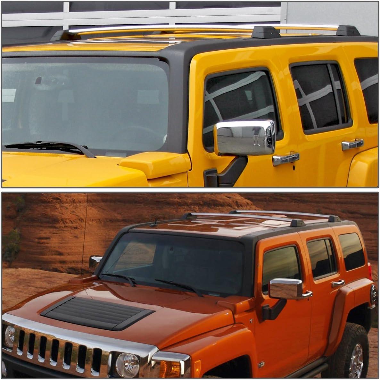 Pair Aluminum OE Style Roof Rack Top Cross Bars w//Lock /& Keys for Hummer H3 H3T 06-10