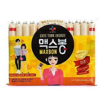 cj Korean mini sausage stick, 805g, 23 count: Amazon com
