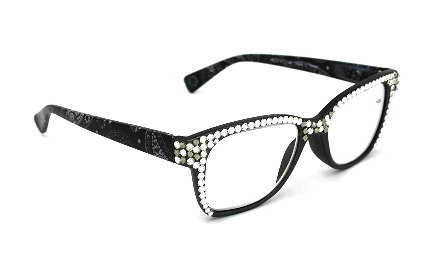 Bling Reading Glasses W/Swarovski Crystals