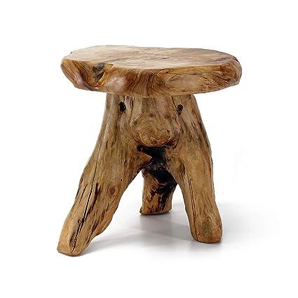 Natural edge furniture Kitchen Table Image Unavailable Amazoncom Amazoncom Welland Tree Stump Stool Live Edge Natural Edge Side