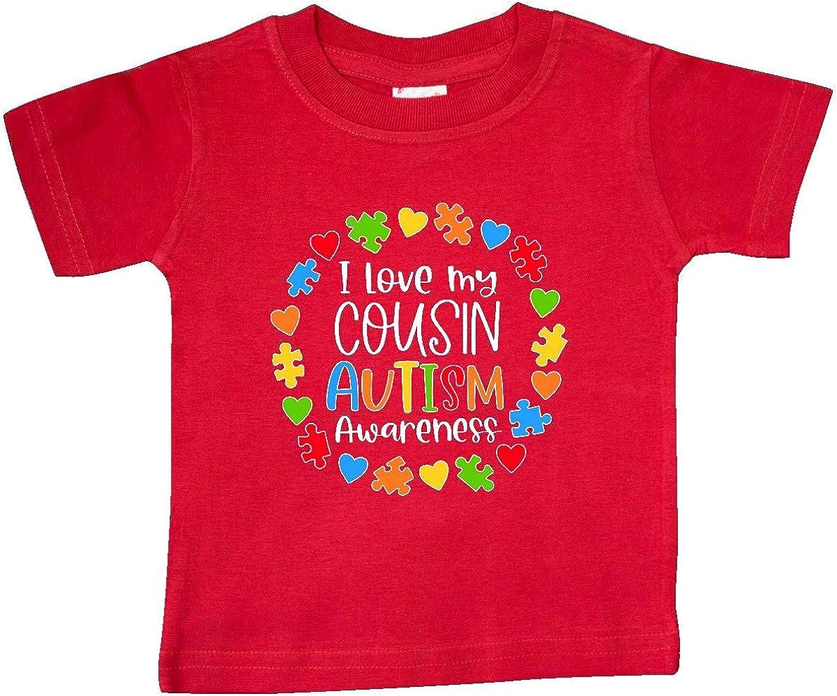 inktastic I Love My Cousin Autism Awareness Baby T-Shirt