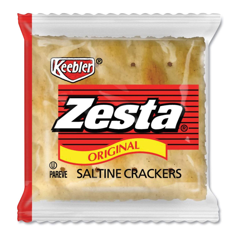 Cracker Keebler Zesta Saltine 500 Case 2 Count by Kellogg's