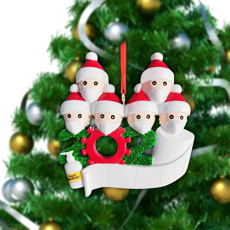 2020 White Swan Handmade Father Christmas Amazon.com: Joyhoop 2020 Personalized Christmas Ornament Kit with