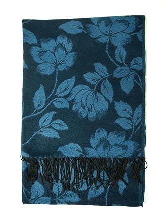 4home-LT - Echarpe en laine pour homme et femme - Bleu  Amazon.fr ... fd5f9402f9e