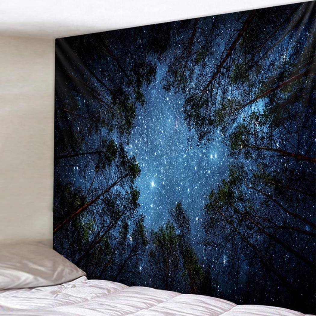 Constellation psych/éd/élique galaxie Univers d/écoration murale en tissu pour chambre /à coucher 150x130cm salon Tapestry a Polyester dortoir