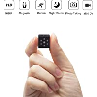 Hidden Camera,PELDA Mini Camera Home Secruity Spy Cam HD 1080P Portable Body Cam with Night Vision and Motion Detection for Baby/Elder/Pet Monitor Fit Indoor Outdoor Using