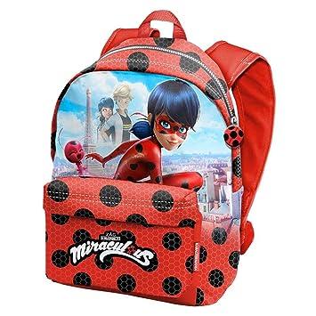 Karactermania Prodigiosa Ladybug Marinette - Disney Mochila tiempo libre con bolsillo delantero, 30cm X 42cm X 17cm, Rojo: Amazon.es: Equipaje