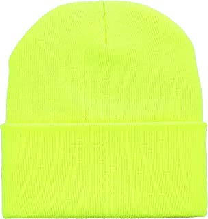 bc1130587d8730 Thick and Warm Mens Daily Cuffed Beanie OR Slouchy Made in USA for USA Knit  HAT