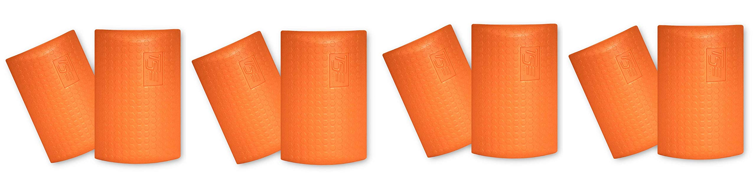 TSE Safety TSE-PPKS TSE-PRO Pocket Knee Savers, One Size, Hi-Viz Orange (Fоur Paсk)