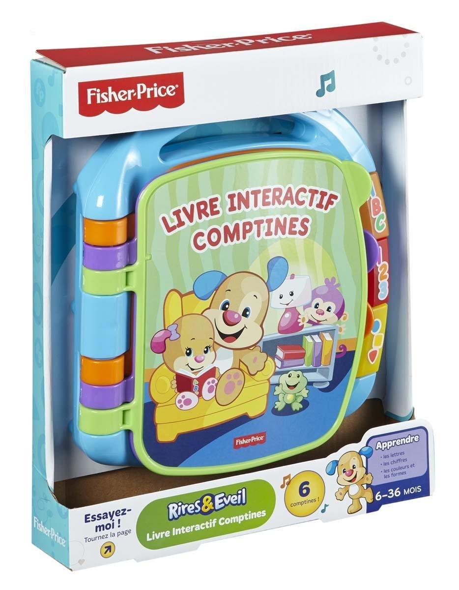 Fisher Price Jouet D Eveil Livre Interactif Comptines
