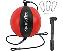 Sparkfire Double-End Speed Bag Punching Ball Speed Training Ball for Boxing Speed Training Set