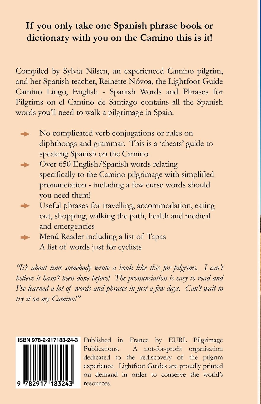 Camino Lingo - English - Spanish Words and Phrases: Reinette N. Voa,  Reinette Novoa, Sylvia Nilsen: 9782917183243: Amazon.com: Books