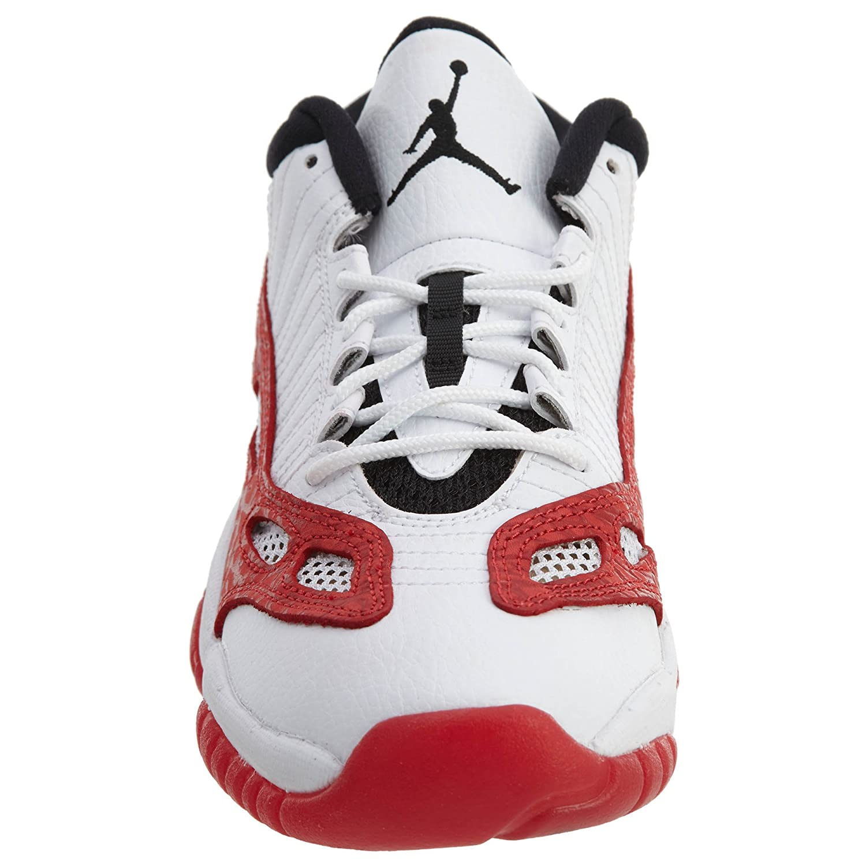 big sale a6f01 02103 Amazon.com   Nike Air Jordan 11 Retro Low BG Big Kid s Basketball Shoes  White Gym Red Size 6.5   Shoes