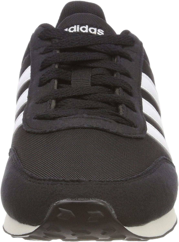 adidas V Racer 2.0, Chaussures de Fitness Homme Noir Negbás Ftwbla Gricin 000