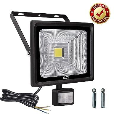 LED Strahler mit Bewegungsmelder CLY 30W Strahler mit Bewegungsmelder Aussen Außenstrahler mit Bewegungsmelder IP66 Wasserdic