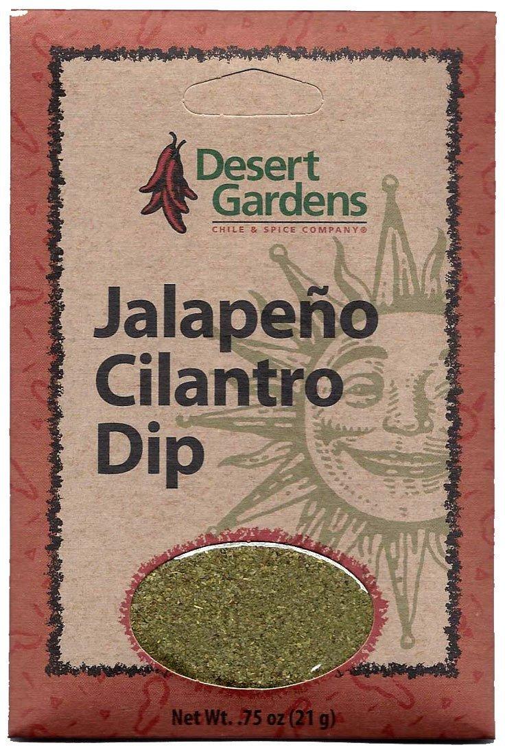 Desert Gardens Jalapeno Cilantro Dip Mix (Pack of 4)