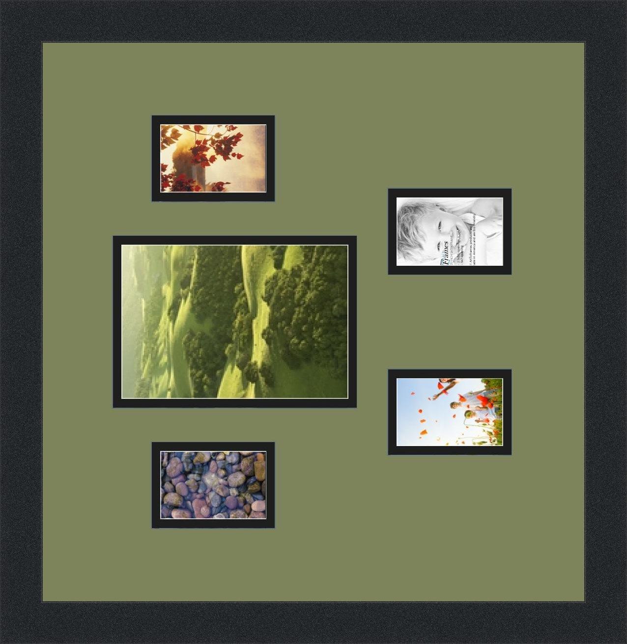 Groß Bilderrahmen Für 3 5x7 Fotos Zeitgenössisch ...