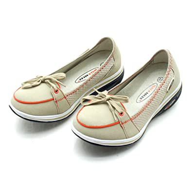 a37710c5c84f WALKMAXX Fitness Moccasins Size UK 4 Beige  Amazon.co.uk  Shoes   Bags