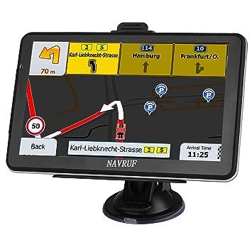 Navegación GPS para Coche, HD Touch 7 Pulgadas 8 GB ...