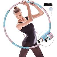 Hula Hoop banden voor volwassenen, roestvrij stalen kernbanden, fitness voor volwassenen, voor gewichtsverlies en…