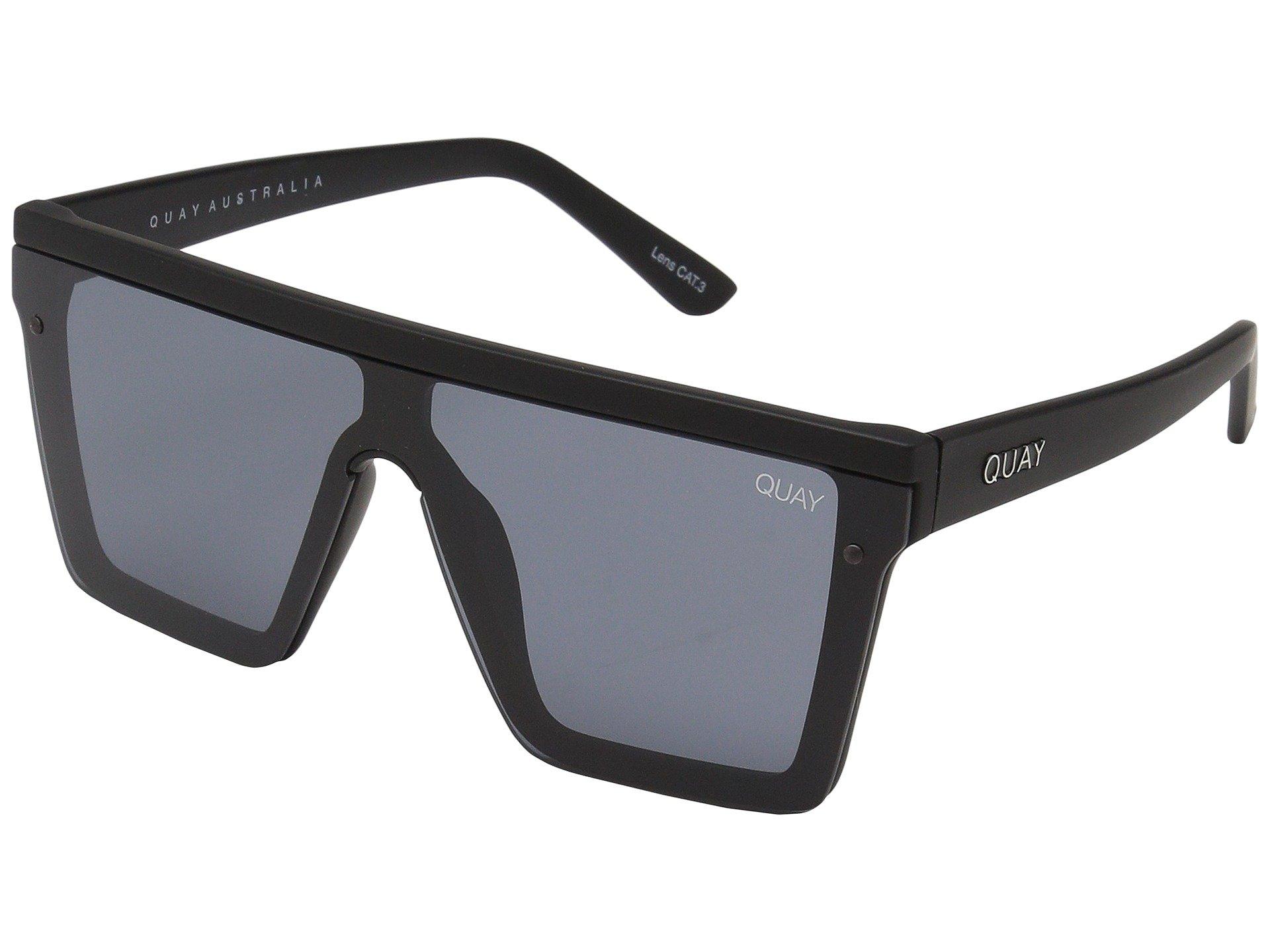 Quay Women's Hindsight Sunglasses, Black/Black, One Size