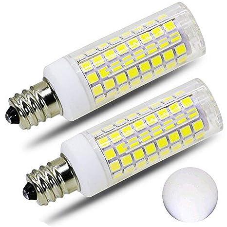 Amazon.com: Paquete de 2 bombillas LED E11, equivalente a ...