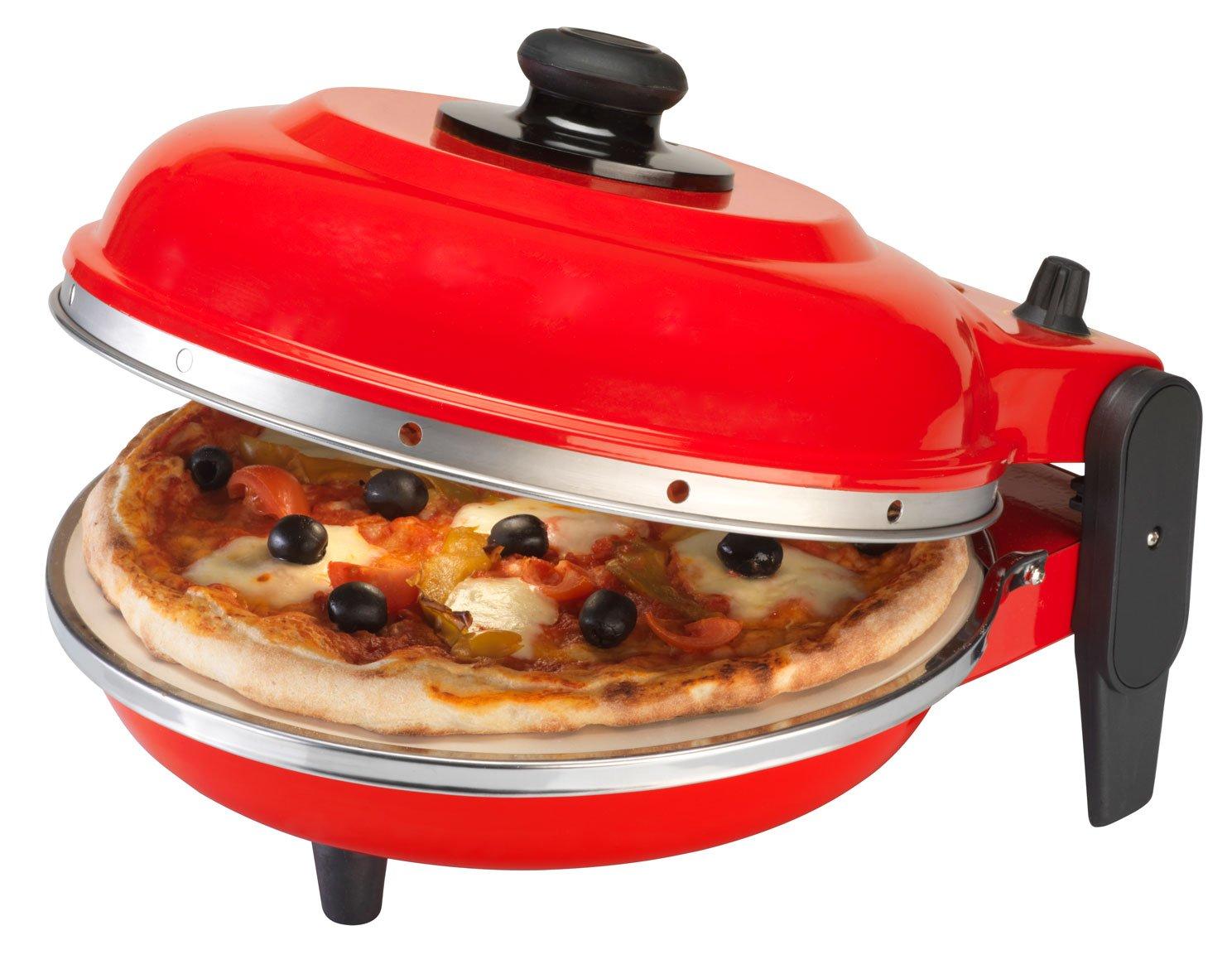 g3 ferrari four pizza g3 ferrari pizza express napoli 1200 watt 450 31 cm import allemagne amazonfr cuisine maison - Cuisson Pizza Maison Four Electrique