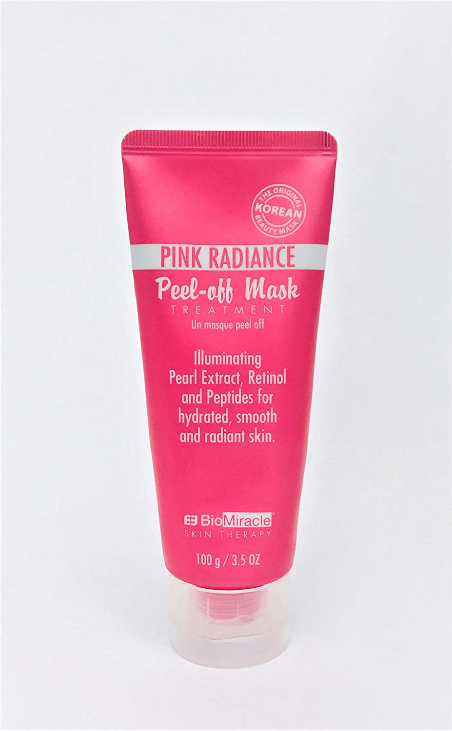 BioMiracle PINK RADIANCE Glitter PEEL-OFF MASK Treatment