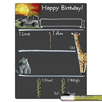 Amazon.com: Cohas – Tarjeta de cumpleaños con diseño de hito ...
