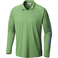 Columbia Columbia Men's Terminal Tackle 1/4 Zip Pull Over, Sun Protection, Moisture Wicking Material