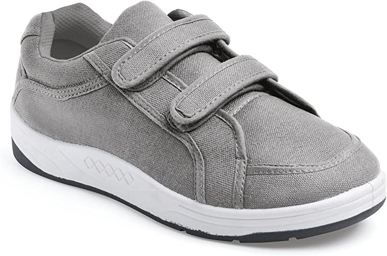 Mens Touch Fastening Canvas Shoes