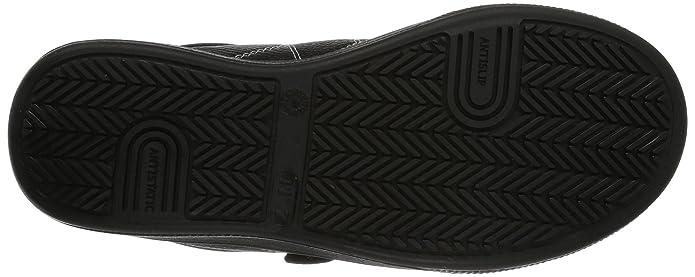 Maxguard STEVE 900160 - Zapatos de protección de cuero para unisex-adultos, color negro, talla 37