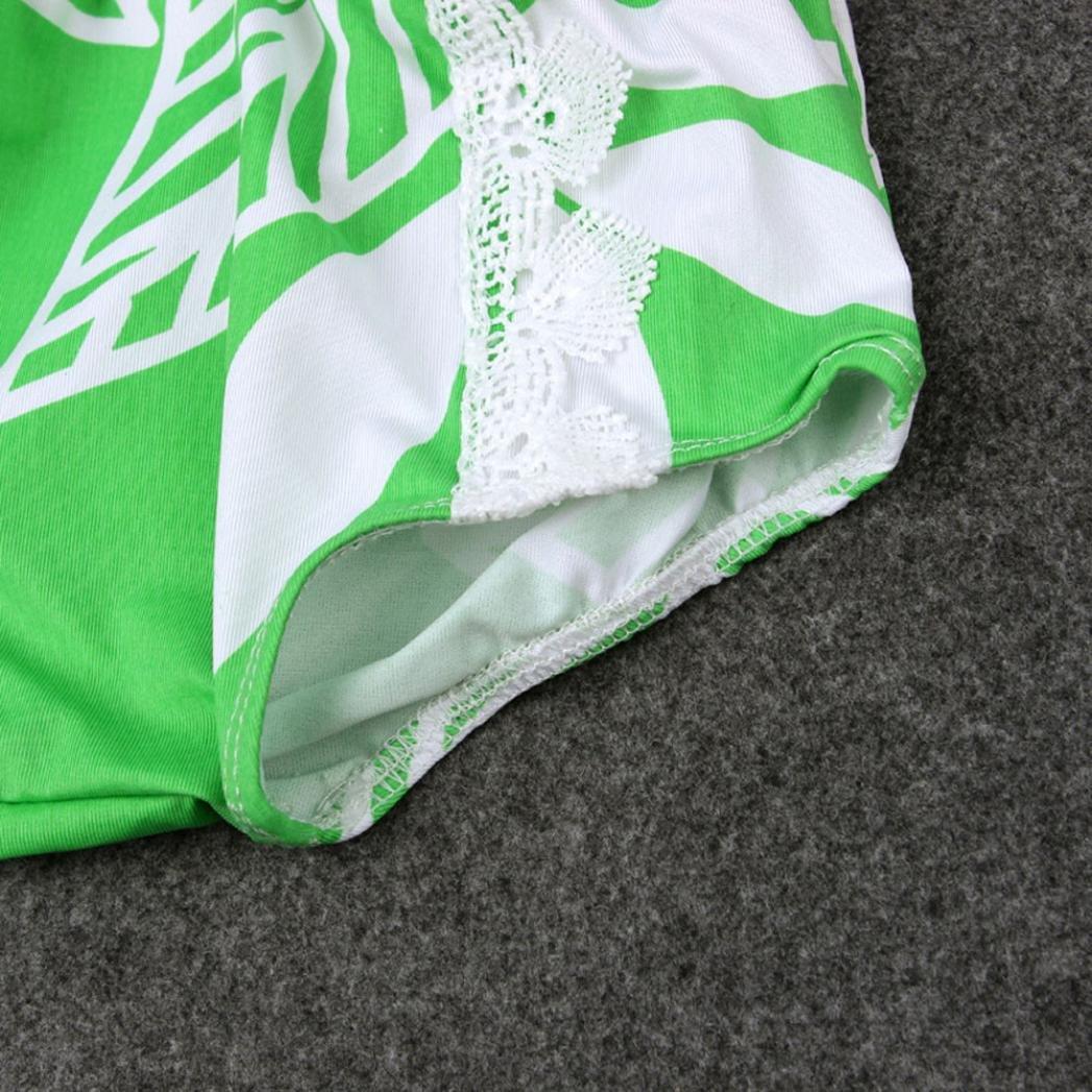 Fabal Green Leaves Swimwear Kids Swimming Bikinis Set One Pieces Baby Girls Bathing Suit Children Swimsuit