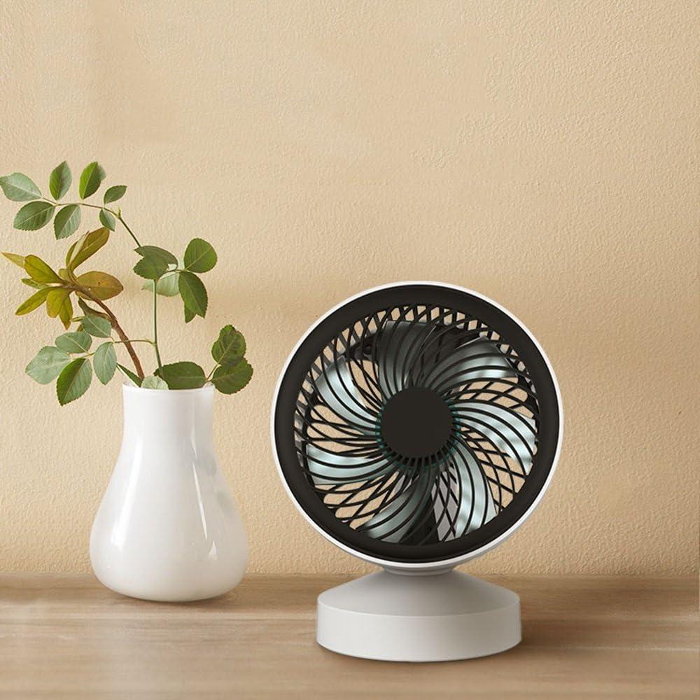 XIAOXIONG Office Desktop Fan Mini Silent Small Fan USB Fan