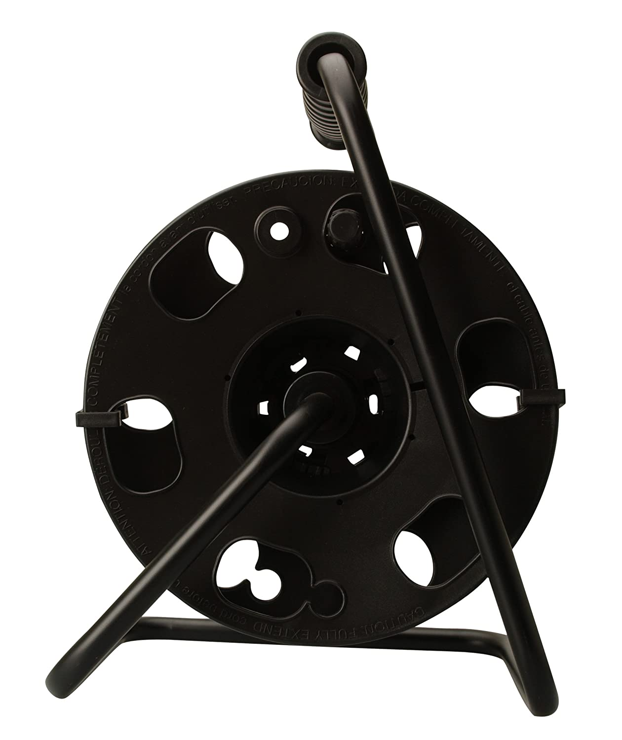 Amazon.com: Woods 22849 Metal Cord Reel Stand In Black (Holds Up To ...
