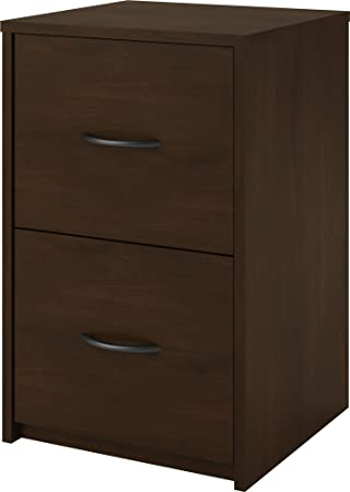 Ameriwood Home Core 2 Drawer File Cabinet, Espresso